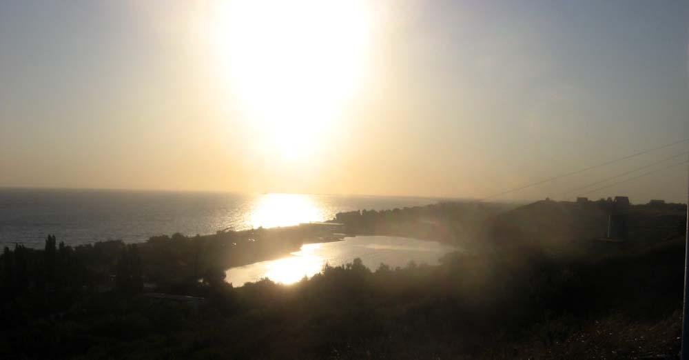 Грязевое озеро в Голубицкой
