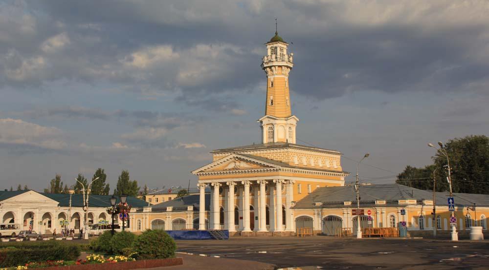 Кострома. Маршрут прогулки по городу