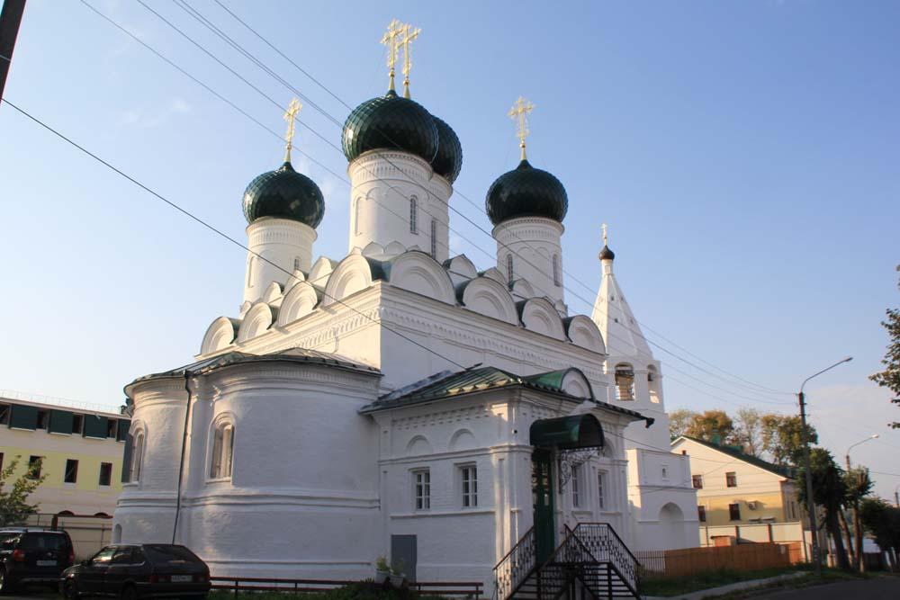 Церковь Вознесения Господня на Дебре