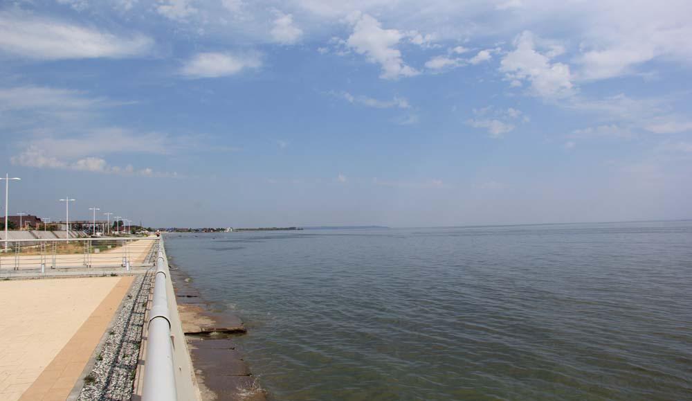 Пляж Камское море