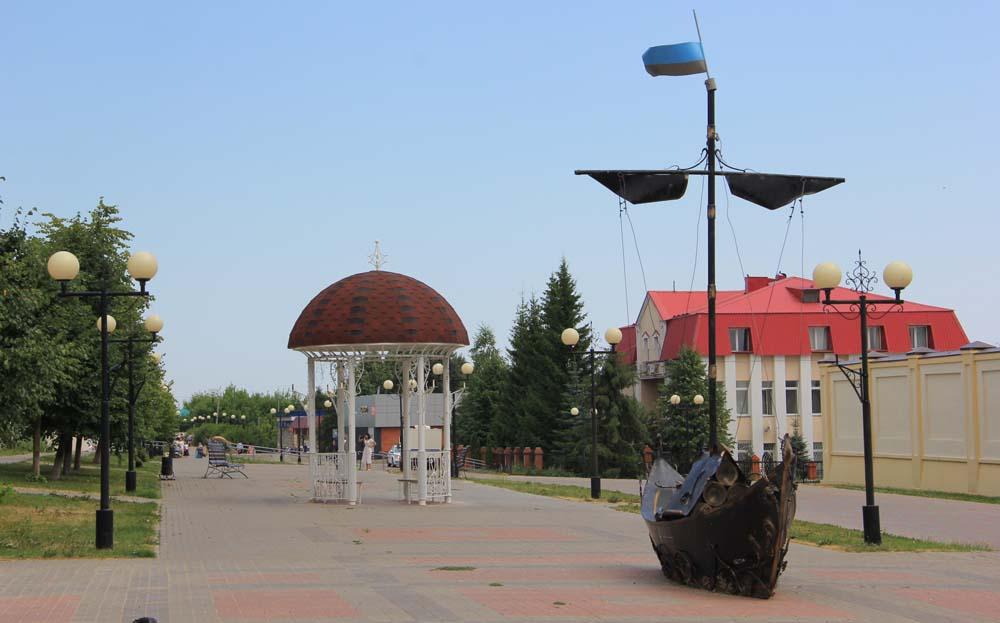 Пешеходная улица Космонавтов