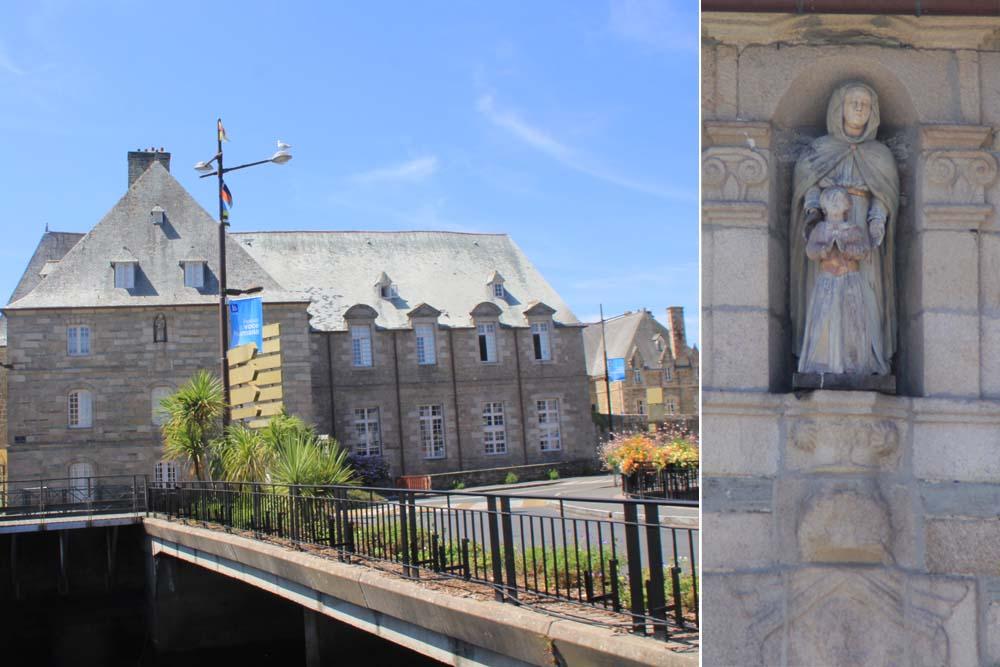Ланьон. Монастырь святой Анны