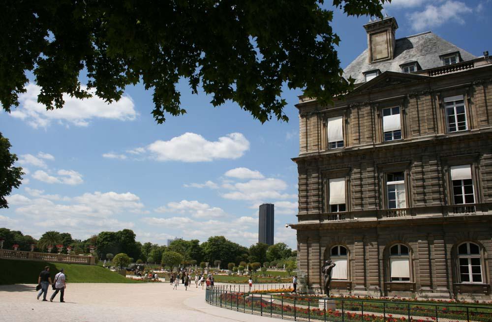 юксембургский сад. Монпарнас