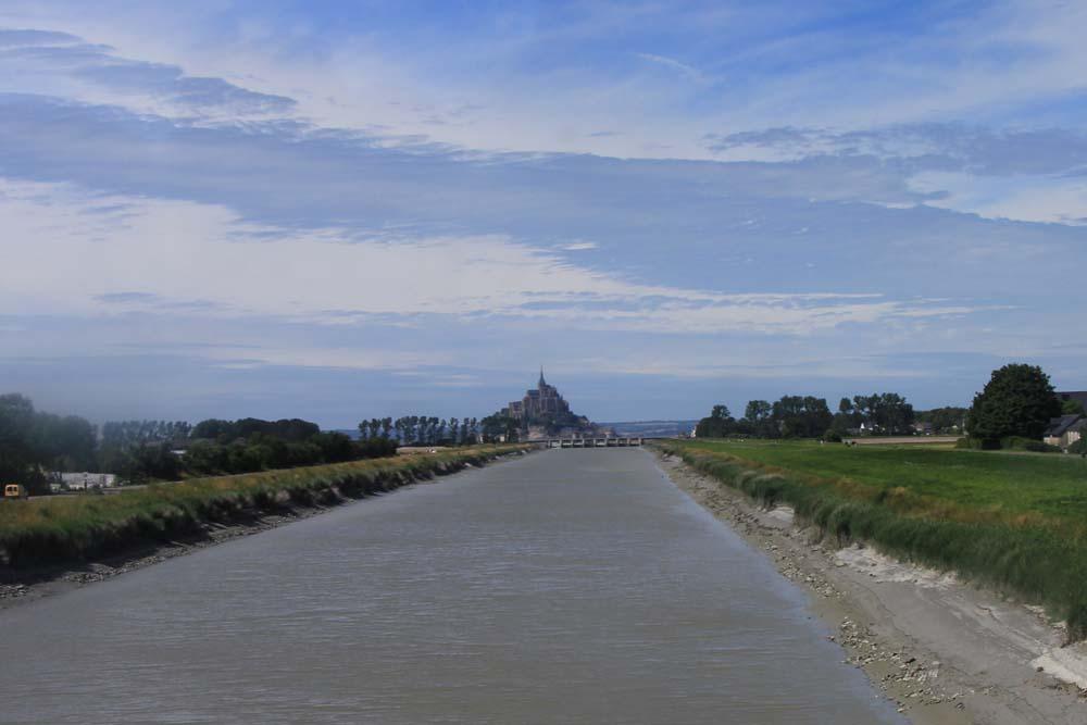Вид на Мон-Сен-Мишель
