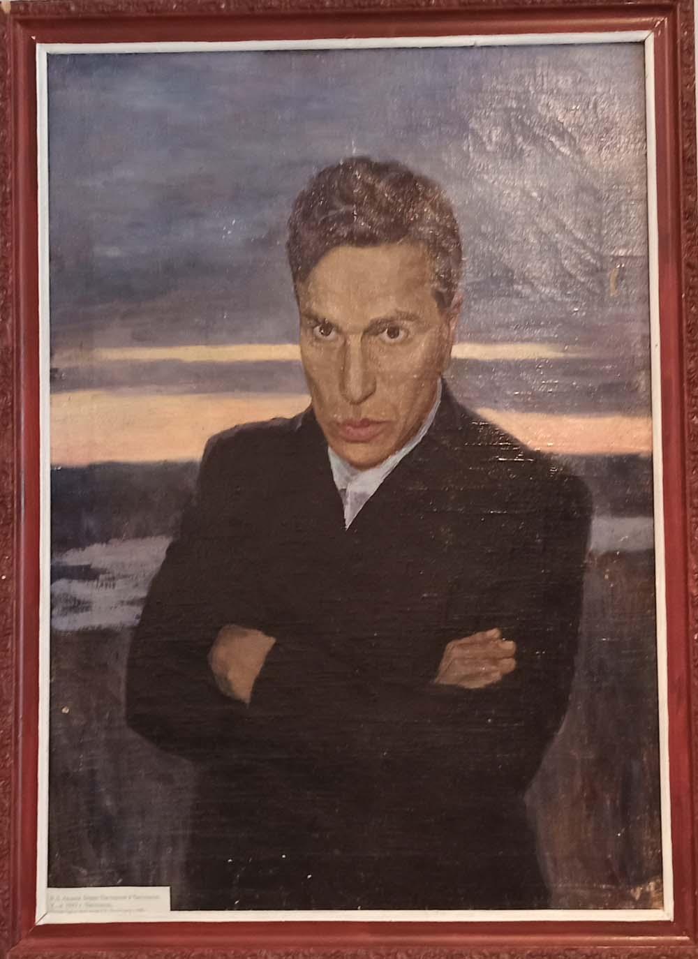 Портрет Пастернака