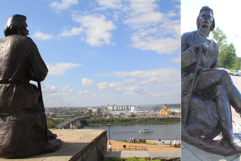 Памятник молодому Горькому