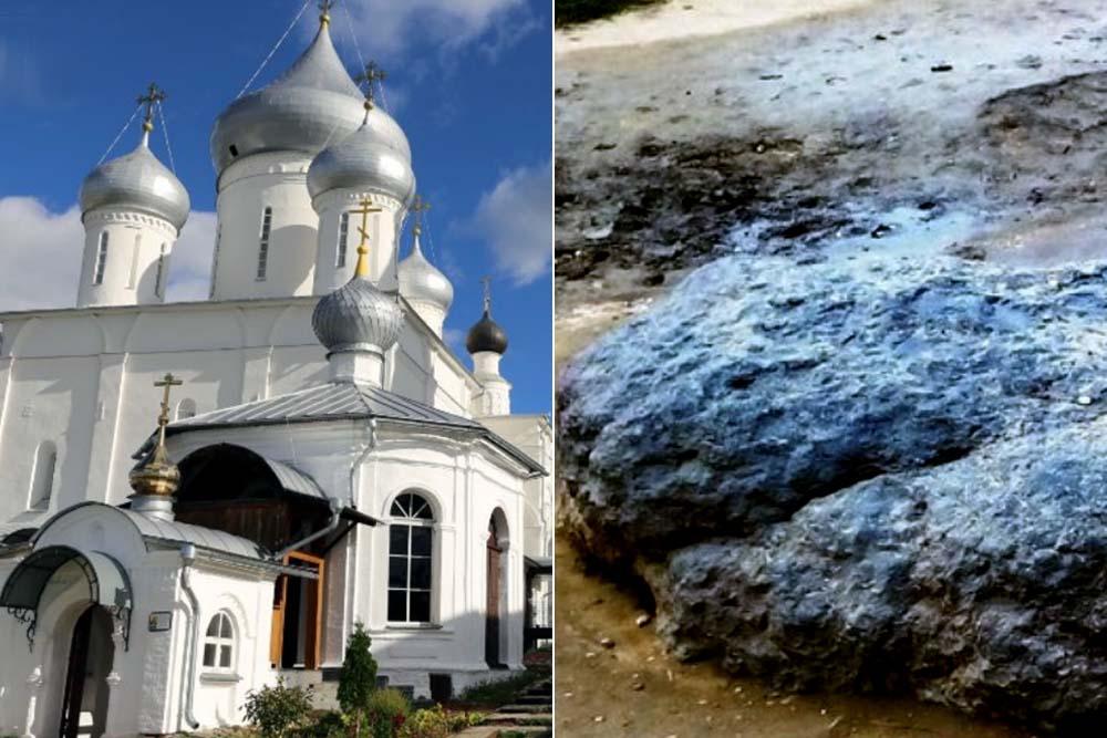 Синий камень и Никитский монастырь