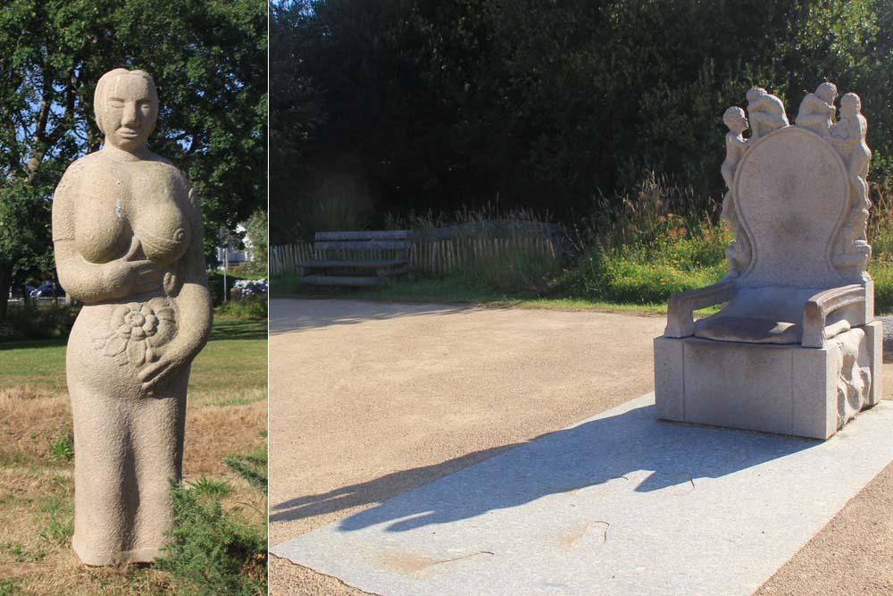 Плуманак. Парк скульптур