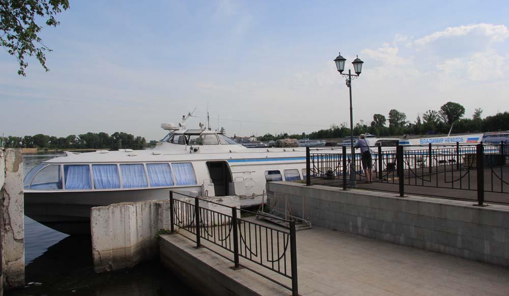 Речной вокзал. Метеор в Болгар