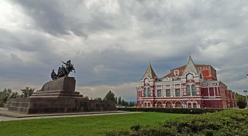 Чапаев и драмтеатр