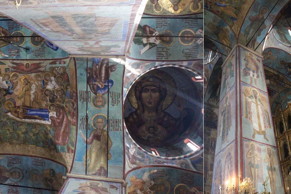 Фрески собора Успения Пресвятой Богородицы