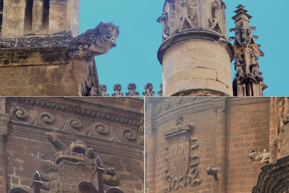 Элементы декора собора Севильи