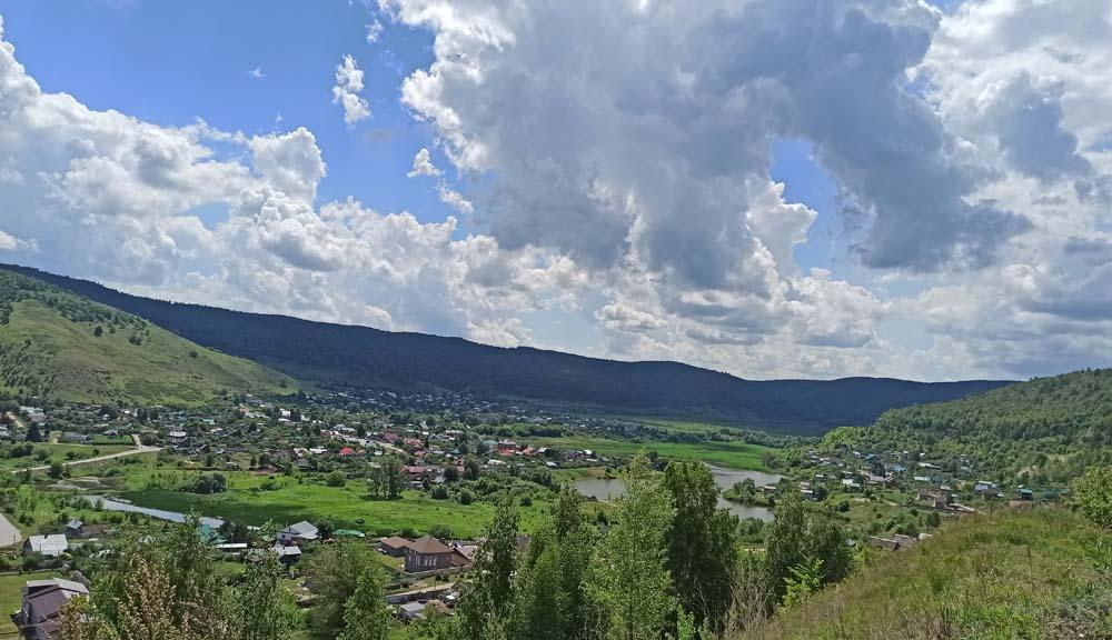 Вид на гору Монастырскую