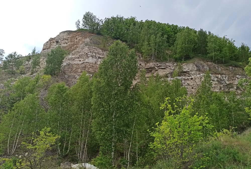 Вид на гору Попова