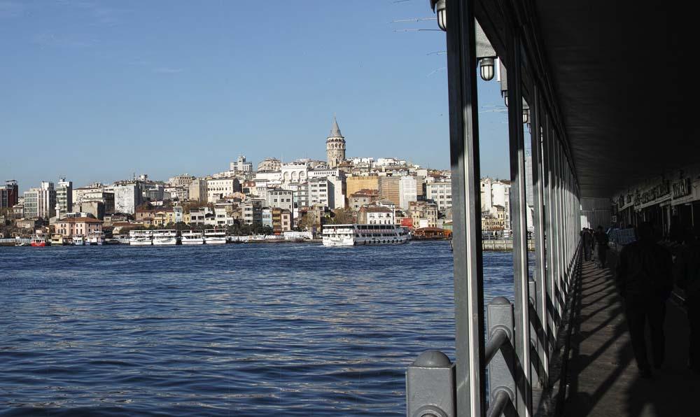 Галатский мост. Стамбул