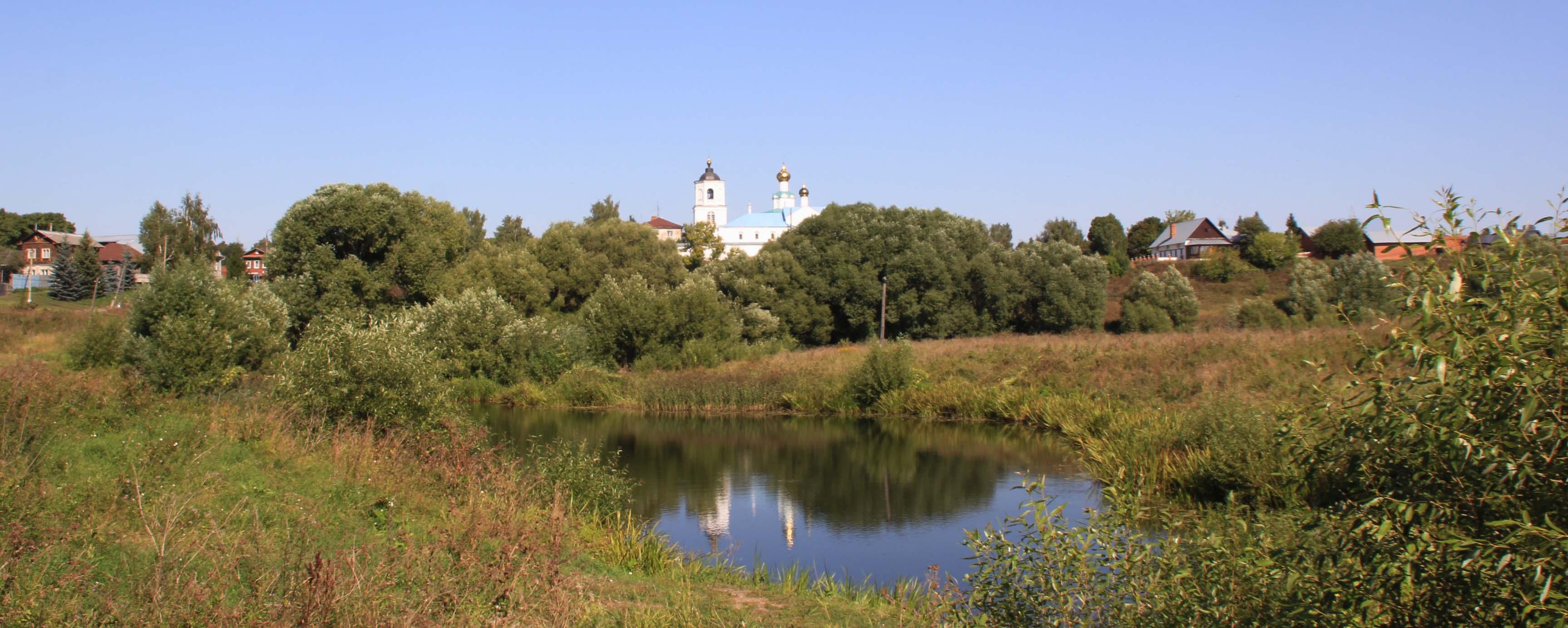 Вид на Васильевский мужской монастырь