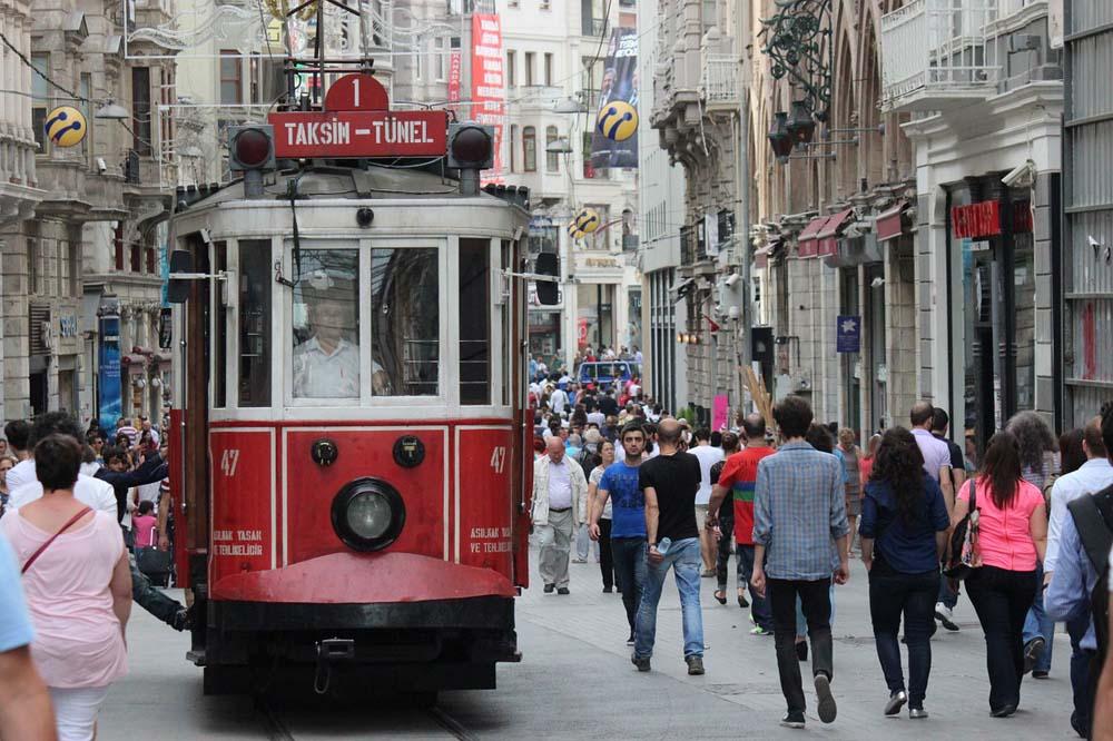 Стамбул. Трамвайчик
