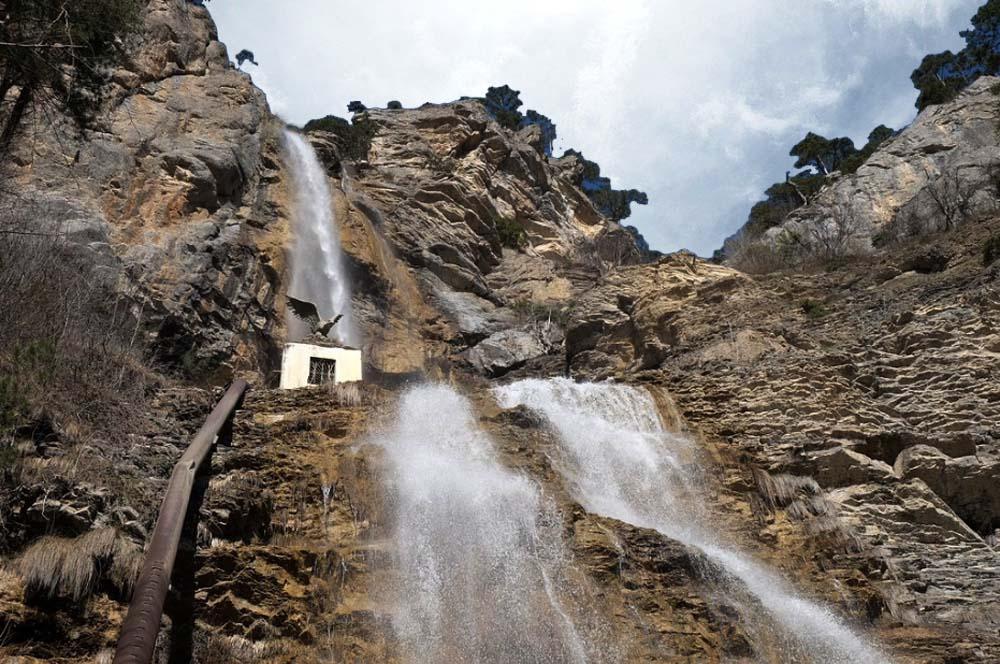 Водопад Учан-Су. Боткинская, Штангеевская, Ставрикайская тропа