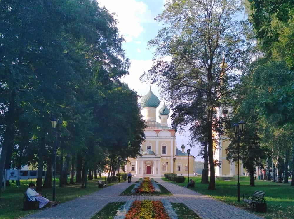 Вход на территорию Кремля