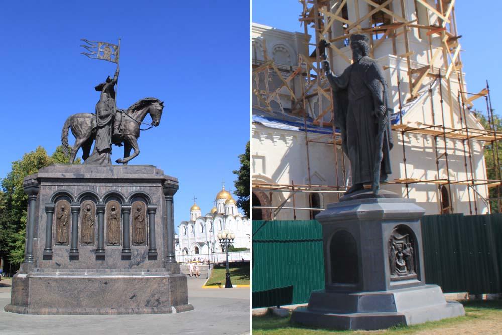 Памятники Владимиру