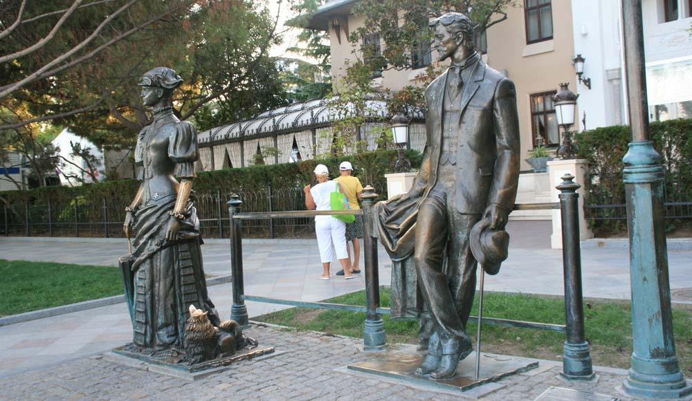 Чехов и Дама с собачкой